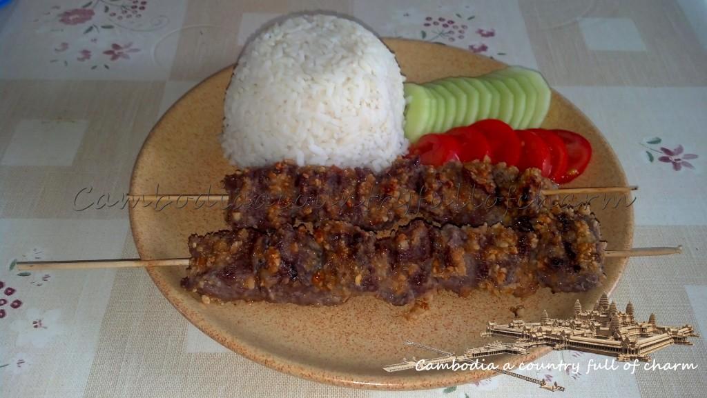 brochettes-de- bœuf-cambodgienne-khmer